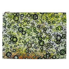 Chaos Background Other Abstract And Chaotic Patterns Cosmetic Bag (xxl)  by Nexatart