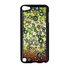 Chaos Background Other Abstract And Chaotic Patterns Apple Ipod Touch 5 Case (black) by Nexatart
