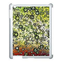 Chaos Background Other Abstract And Chaotic Patterns Apple Ipad 3/4 Case (white) by Nexatart
