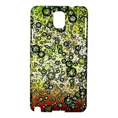 Chaos Background Other Abstract And Chaotic Patterns Samsung Galaxy Note 3 N9005 Hardshell Case by Nexatart