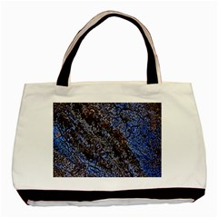 Cracked Mud And Sand Abstract Basic Tote Bag (two Sides) by Nexatart
