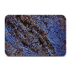 Cracked Mud And Sand Abstract Plate Mats by Nexatart