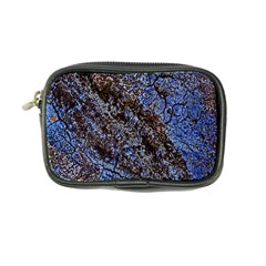 Cracked Mud And Sand Abstract Coin Purse by Nexatart