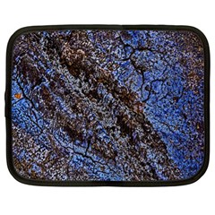 Cracked Mud And Sand Abstract Netbook Case (xl)