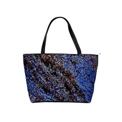 Cracked Mud And Sand Abstract Shoulder Handbags by Nexatart