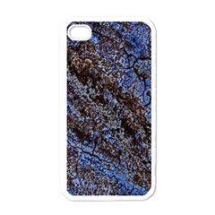 Cracked Mud And Sand Abstract Apple Iphone 4 Case (white)