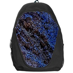 Cracked Mud And Sand Abstract Backpack Bag by Nexatart