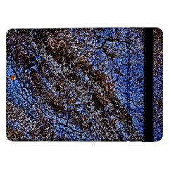 Cracked Mud And Sand Abstract Samsung Galaxy Tab Pro 12 2  Flip Case