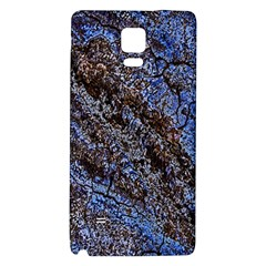 Cracked Mud And Sand Abstract Galaxy Note 4 Back Case by Nexatart
