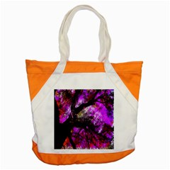 Pink Abstract Tree Accent Tote Bag