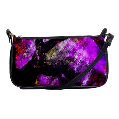 Pink Abstract Tree Shoulder Clutch Bags by Nexatart