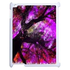 Pink Abstract Tree Apple Ipad 2 Case (white)