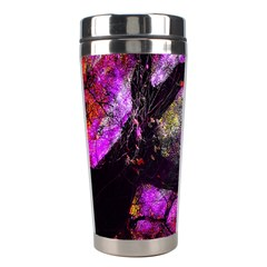 Pink Abstract Tree Stainless Steel Travel Tumblers