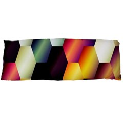 Colorful Hexagon Pattern Body Pillow Case Dakimakura (two Sides)