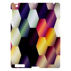 Colorful Hexagon Pattern Apple Ipad 3/4 Hardshell Case by Nexatart