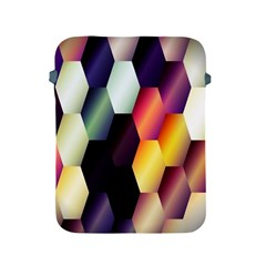 Colorful Hexagon Pattern Apple Ipad 2/3/4 Protective Soft Cases