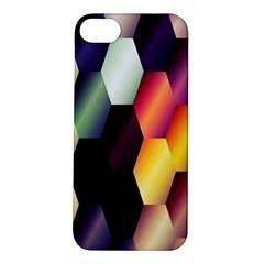 Colorful Hexagon Pattern Apple Iphone 5s/ Se Hardshell Case