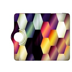 Colorful Hexagon Pattern Kindle Fire Hdx 8 9  Flip 360 Case by Nexatart