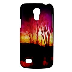 Fall Forest Background Galaxy S4 Mini by Nexatart