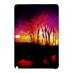 Fall Forest Background Samsung Galaxy Tab Pro 12 2 Hardshell Case