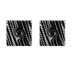 Abstract Background Resembling To Metal Grid Cufflinks (square) by Nexatart