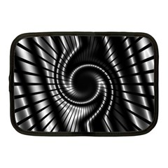 Abstract Background Resembling To Metal Grid Netbook Case (medium)