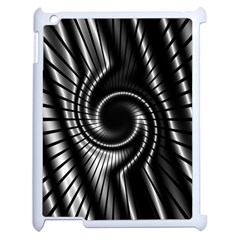 Abstract Background Resembling To Metal Grid Apple Ipad 2 Case (white)