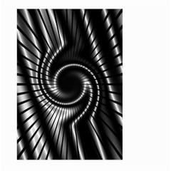 Abstract Background Resembling To Metal Grid Large Garden Flag (two Sides) by Nexatart