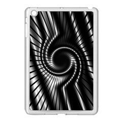 Abstract Background Resembling To Metal Grid Apple Ipad Mini Case (white) by Nexatart
