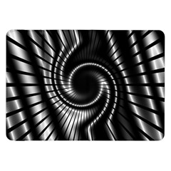 Abstract Background Resembling To Metal Grid Samsung Galaxy Tab 8 9  P7300 Flip Case by Nexatart