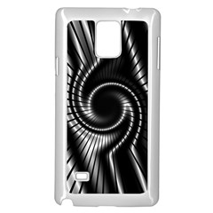 Abstract Background Resembling To Metal Grid Samsung Galaxy Note 4 Case (white) by Nexatart