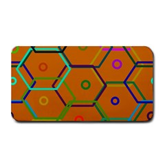 Color Bee Hive Color Bee Hive Pattern Medium Bar Mats by Nexatart