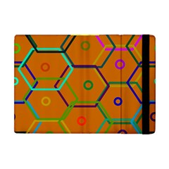 Color Bee Hive Color Bee Hive Pattern Apple Ipad Mini Flip Case