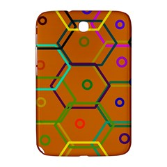 Color Bee Hive Color Bee Hive Pattern Samsung Galaxy Note 8.0 N5100 Hardshell Case  by Nexatart