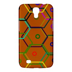 Color Bee Hive Color Bee Hive Pattern Samsung Galaxy Mega 6 3  I9200 Hardshell Case by Nexatart