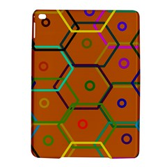 Color Bee Hive Color Bee Hive Pattern Ipad Air 2 Hardshell Cases by Nexatart