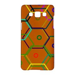 Color Bee Hive Color Bee Hive Pattern Samsung Galaxy A5 Hardshell Case