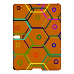 Color Bee Hive Color Bee Hive Pattern Samsung Galaxy Tab S (10 5 ) Hardshell Case  by Nexatart