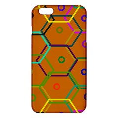 Color Bee Hive Color Bee Hive Pattern Iphone 6 Plus/6s Plus Tpu Case by Nexatart