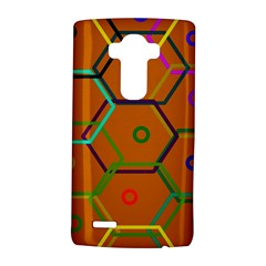 Color Bee Hive Color Bee Hive Pattern Lg G4 Hardshell Case by Nexatart