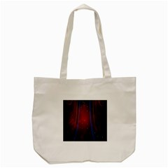 Bright Background With Stars And Air Curtains Tote Bag (cream) by Nexatart