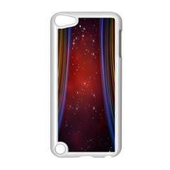 Bright Background With Stars And Air Curtains Apple Ipod Touch 5 Case (white) by Nexatart
