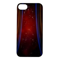 Bright Background With Stars And Air Curtains Apple Iphone 5s/ Se Hardshell Case