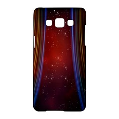 Bright Background With Stars And Air Curtains Samsung Galaxy A5 Hardshell Case