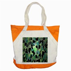 Wallpaper Background With Lighted Pattern Accent Tote Bag by Nexatart