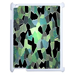 Wallpaper Background With Lighted Pattern Apple Ipad 2 Case (white) by Nexatart