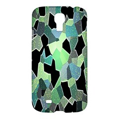 Wallpaper Background With Lighted Pattern Samsung Galaxy S4 I9500/i9505 Hardshell Case