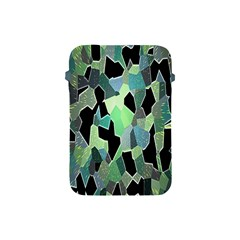 Wallpaper Background With Lighted Pattern Apple Ipad Mini Protective Soft Cases by Nexatart