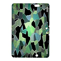 Wallpaper Background With Lighted Pattern Kindle Fire Hdx 8 9  Hardshell Case by Nexatart