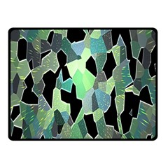 Wallpaper Background With Lighted Pattern Double Sided Fleece Blanket (small)